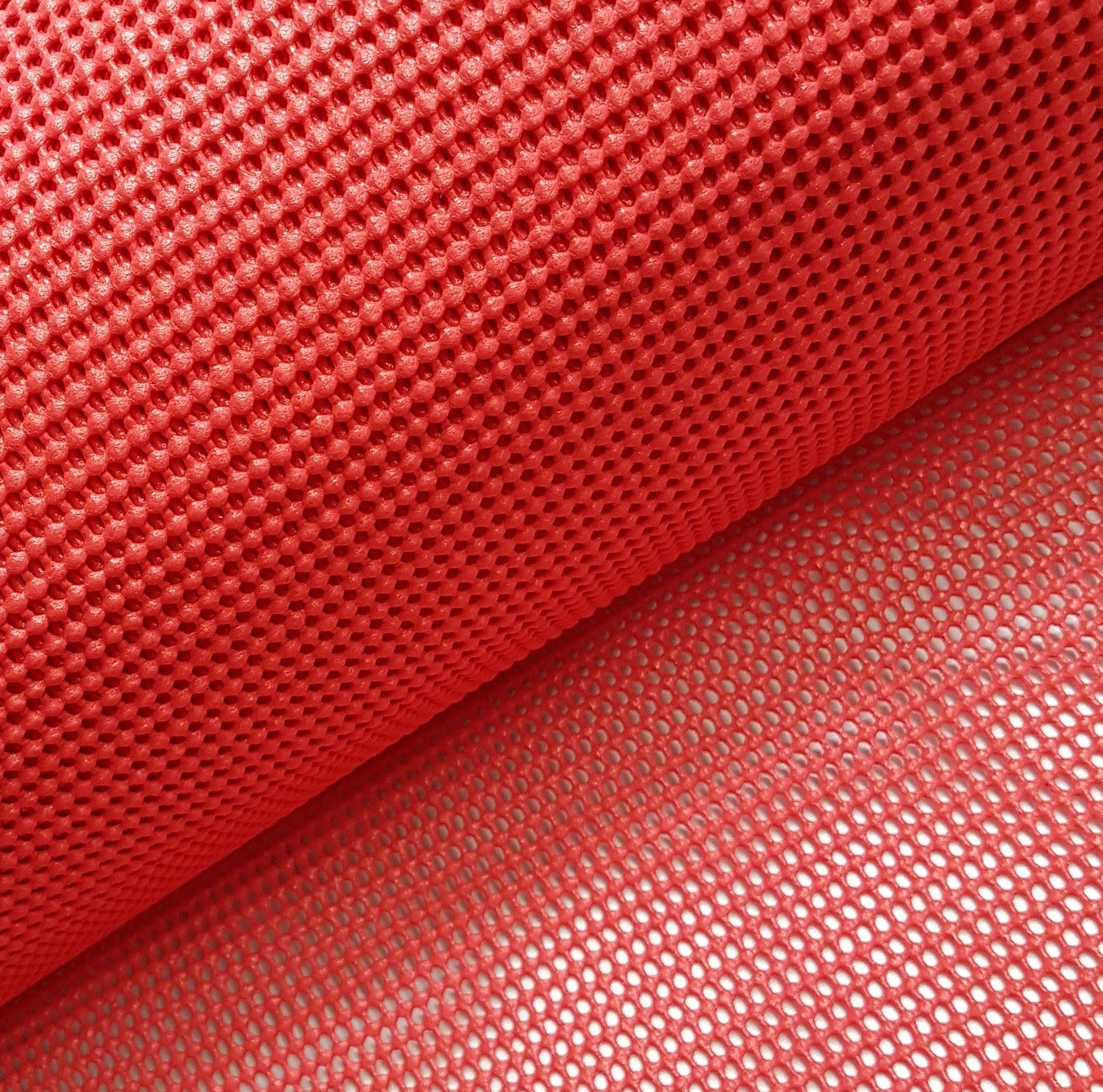 Tela Antiderrapante Vermelho Largura 120cm