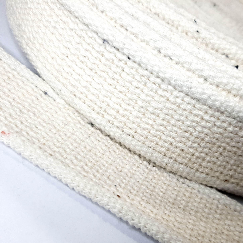 Alça de Algodão Cru c/ borda 40mm