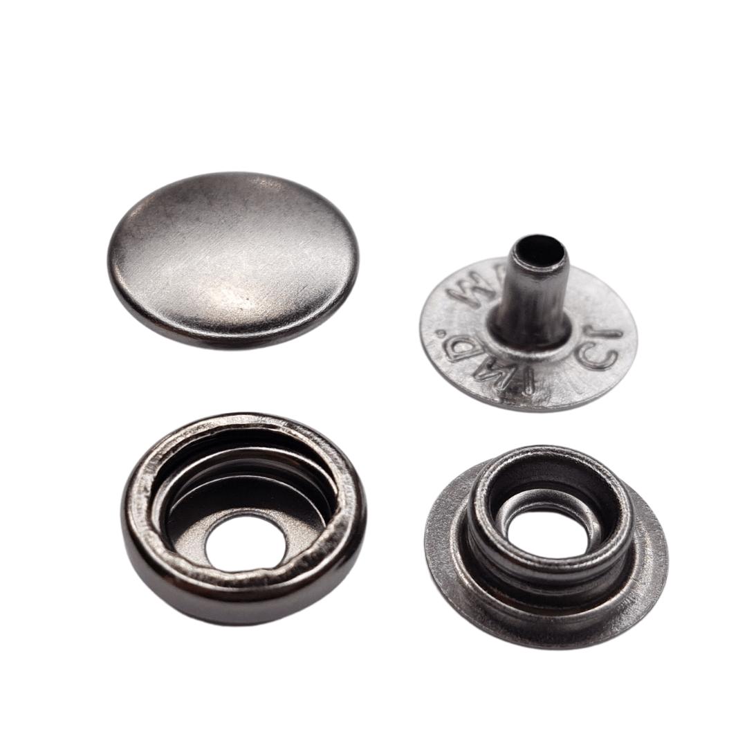 Botão de pressão nº 80 - Onix - Pcte c 10 unid