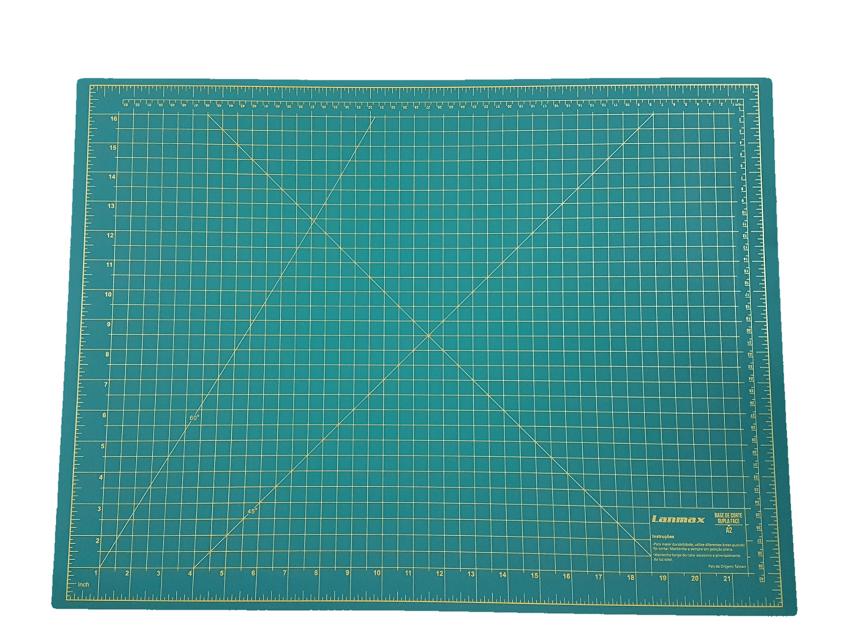 Base para Corte A2 - 60 x 45 - Verde
