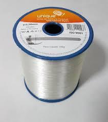 Linha de costura invisível 100% Poliamida (Nylon) 0,20mm - 100g