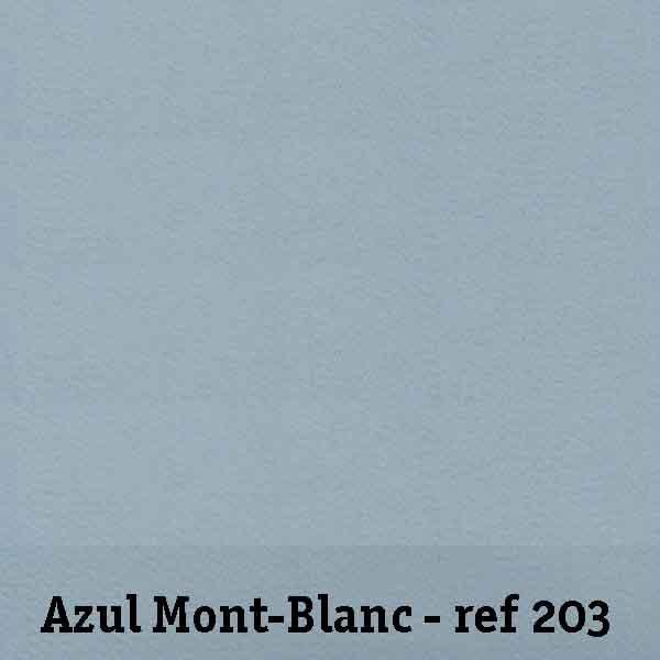 FELTRO AZUL MONT BLANC - REF. 203