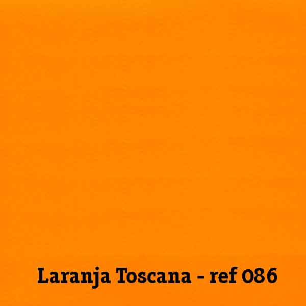 FELTRO LARANJA TOSCANA - REF. 086
