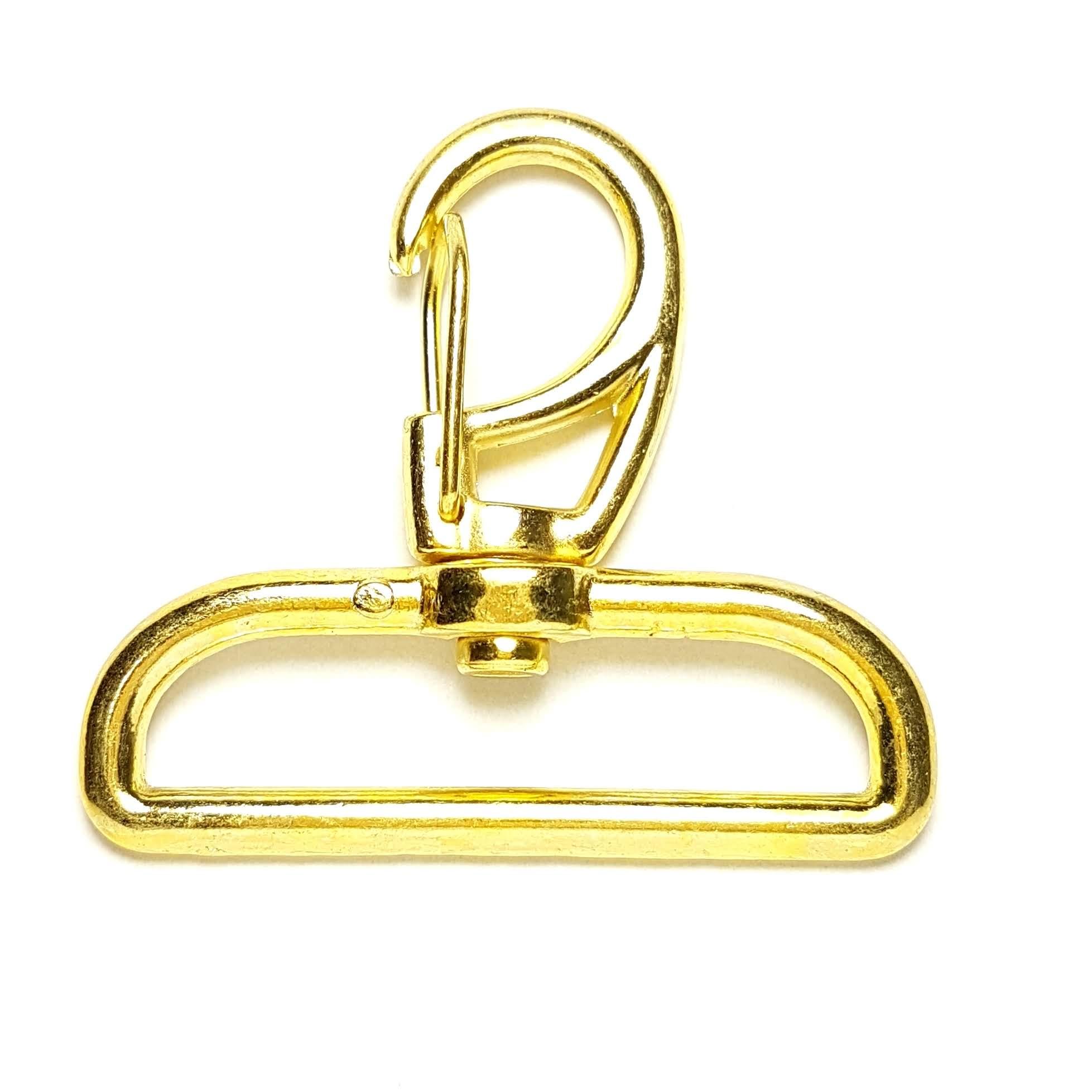 Mosquetão Dourado Ref. 1166 - 4,0cm