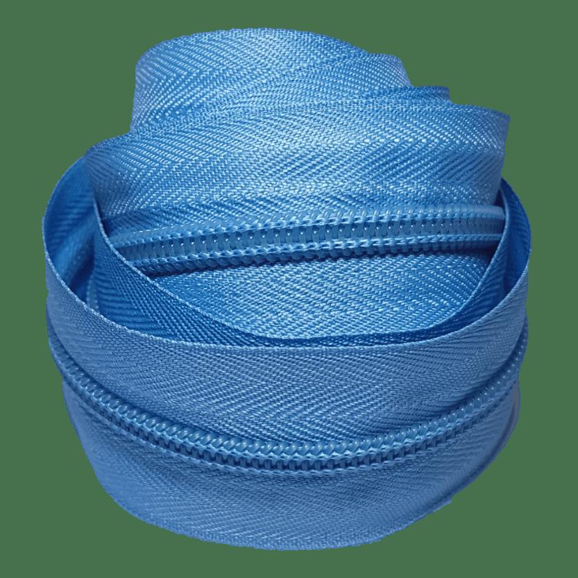 Zíper por metro nº 5 - Azul Claro
