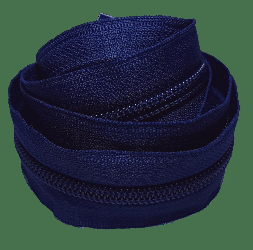 Zíper por metro nº 5 - Azul Marinho