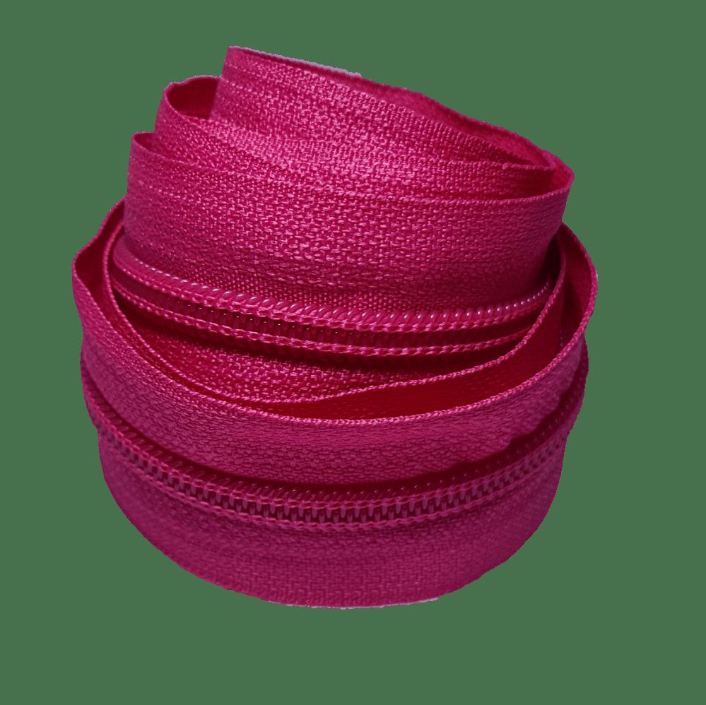 Zíper por metro nº 5 - Pink