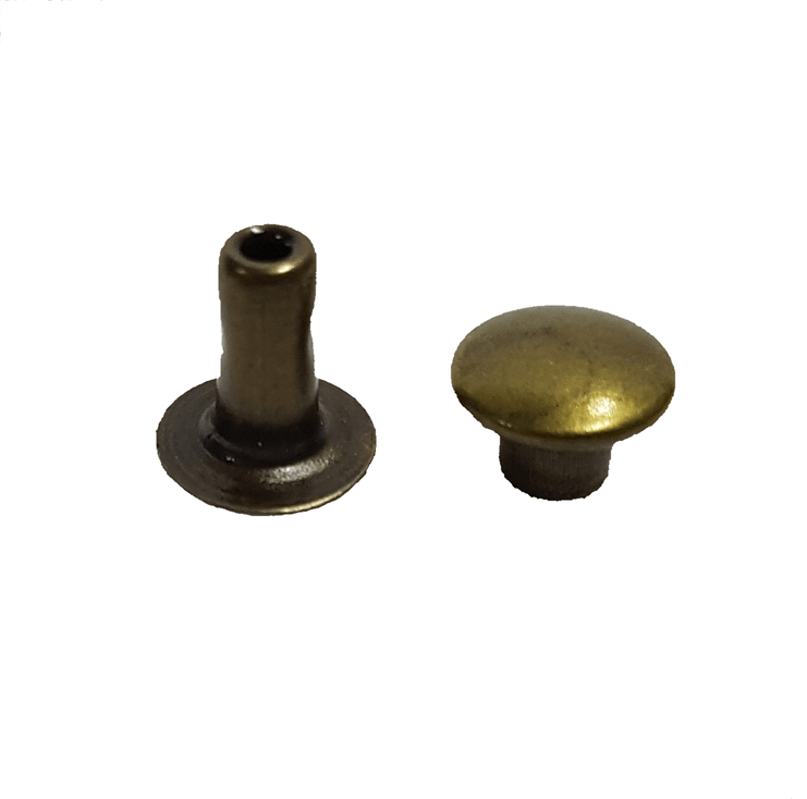 Rebite n.º 2 - Ouro Velho - Pcte c/ 20 unid