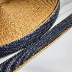 Alça de Nylon c/ jeans 25mm - Caqui