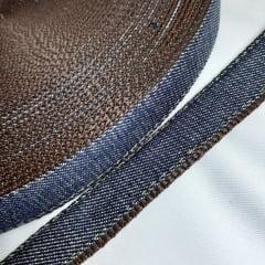 Alça de Nylon c/ jeans 25mm - Marrom