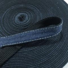 Alça de Nylon c/ jeans 25mm - Preto