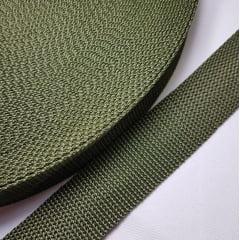 Alça de Nylon Reforçada (CA) Verde Musgo