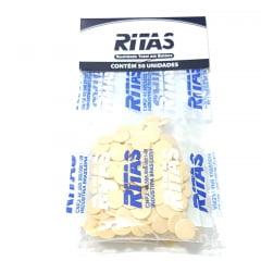 Botão de Pressão Ritas - 10mm  Cor Palha c/ 50 unid