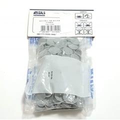 Botão de Pressão Ritas - 12mm  Cor Cinza c/ 50 unid