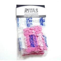 Botão de Pressão Ritas - 12mm  Cor Pink c/ 50 unid