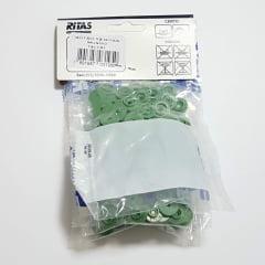 Botão de Pressão Ritas - 12mm  Cor Verde Musgo c/ 50 unid