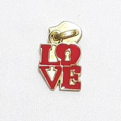 Cursor N.º 5 - Ref. 546 - LOVE Dourado