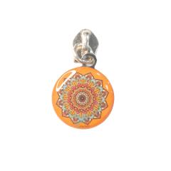 Cursor N.º 5 - Ref. 555 - Mandala Fundo Laranja