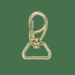 Mosquetão Dourado Ref. 1166 - 2,5CM