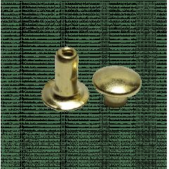 Rebite n.º 2 - Dourado - Pcte c/ 20 unid