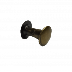 Rebite n.º 3 - Ouro Velho - Pcte c/ 20 unid