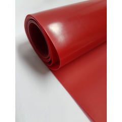 Sintético Silicone 0.7 - Vermelho