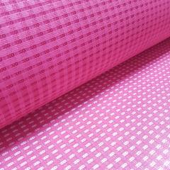 Tela de Poliéster com PVC Trançada - Larg 1,40m - Pink