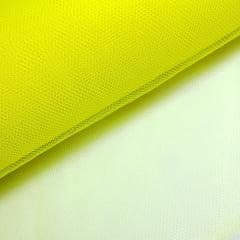 Tule Amarelo Neon Largura 120cm 100% Poliéster