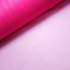 Tule Pink Largura 120cm 100% Poliéster
