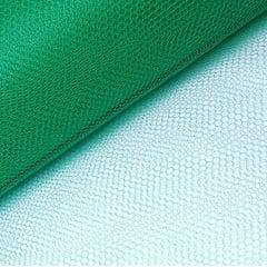 Tule Verde Bandeira Largura 120cm 100% Poliéster