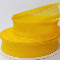 Viés de Algodão Larg 25mm - Amarelo Ouro - 5mt
