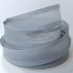 Viés de Algodão Larg 25mm - Cinza - 5mt