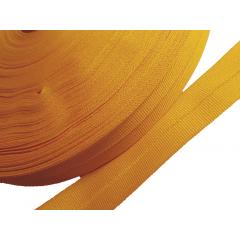 Viés Industrial (gorgurão) Amarelo Ouro c/ 5mt