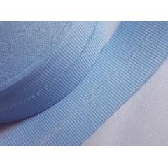 Viés Industrial (gorgurão) Azul Claro c/ 5mt