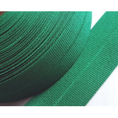 Viés Industrial (gorgurão) Verde Bandeira c/ 5mt