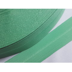 Viés Industrial (gorgurão) Verde Claro c/ 5mt