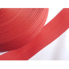 Viés Industrial (gorgurão) Vermelho c/ 5mt
