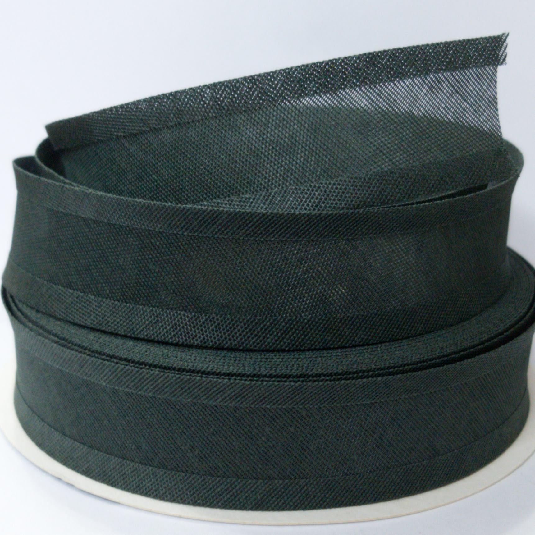 Viés de Algodão Larg 25mm - Verde Musgo - 5mt