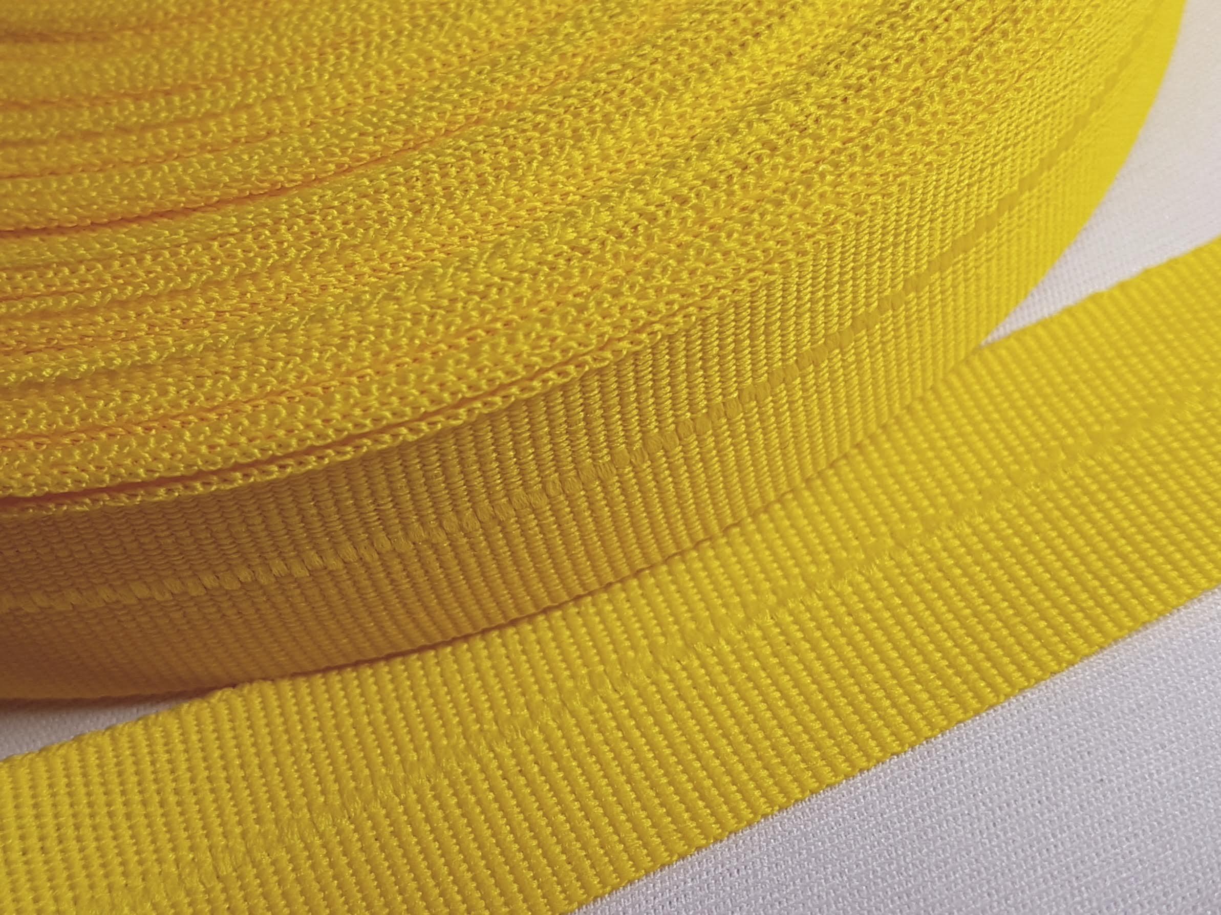 Viés Industrial (gorgurão) Amarelo c/ 5mt
