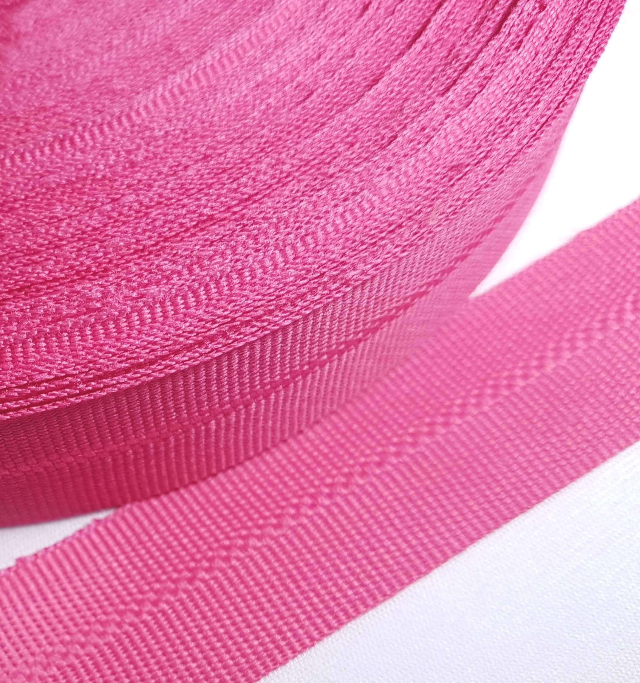 Viés Industrial (gorgurão) Pink c/ 5mt